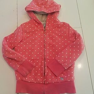 Mini  boden shaggy hoodie